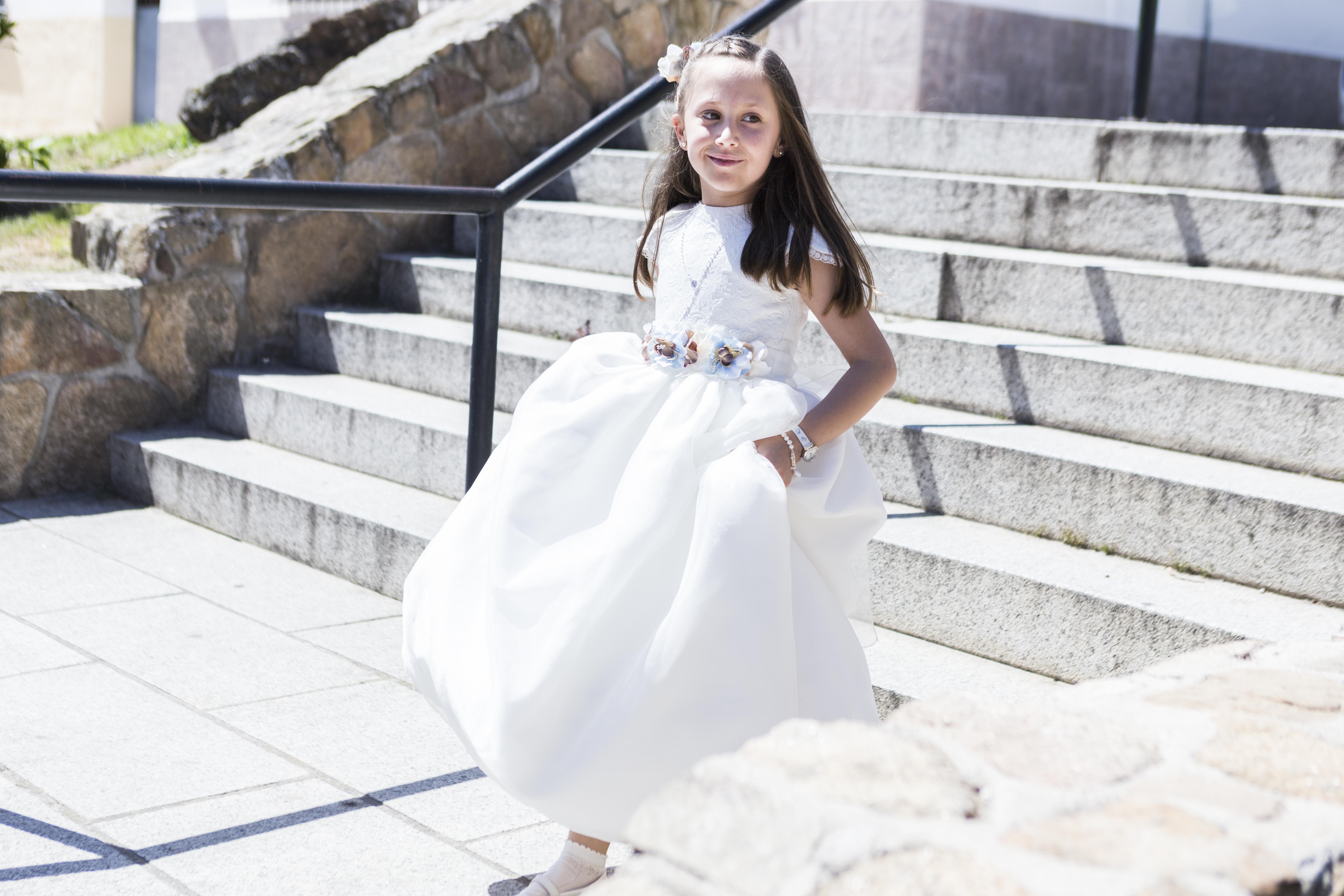 Comunión Lucía San Agustín de Guadalix