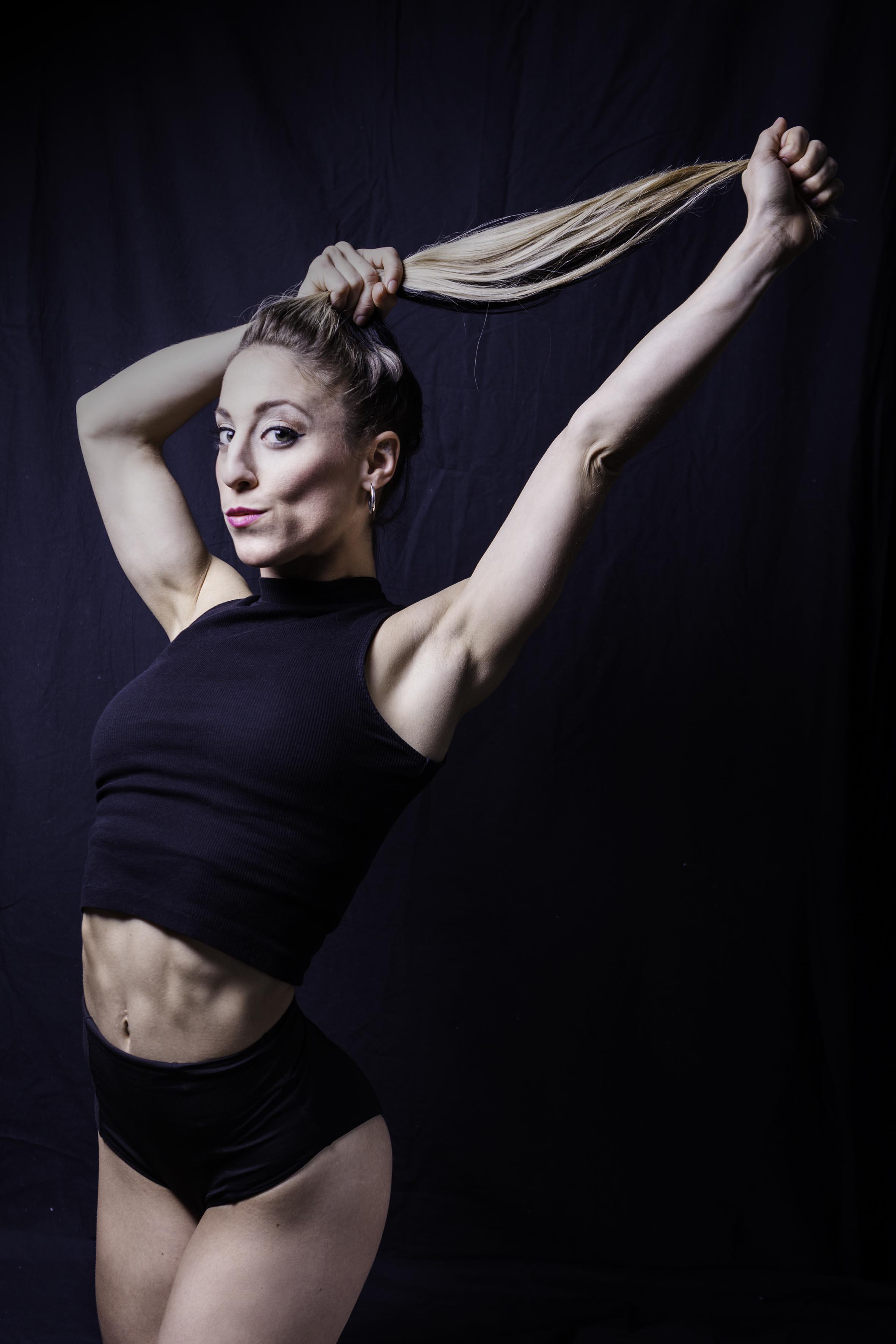 Bailarina Melisa Fucci