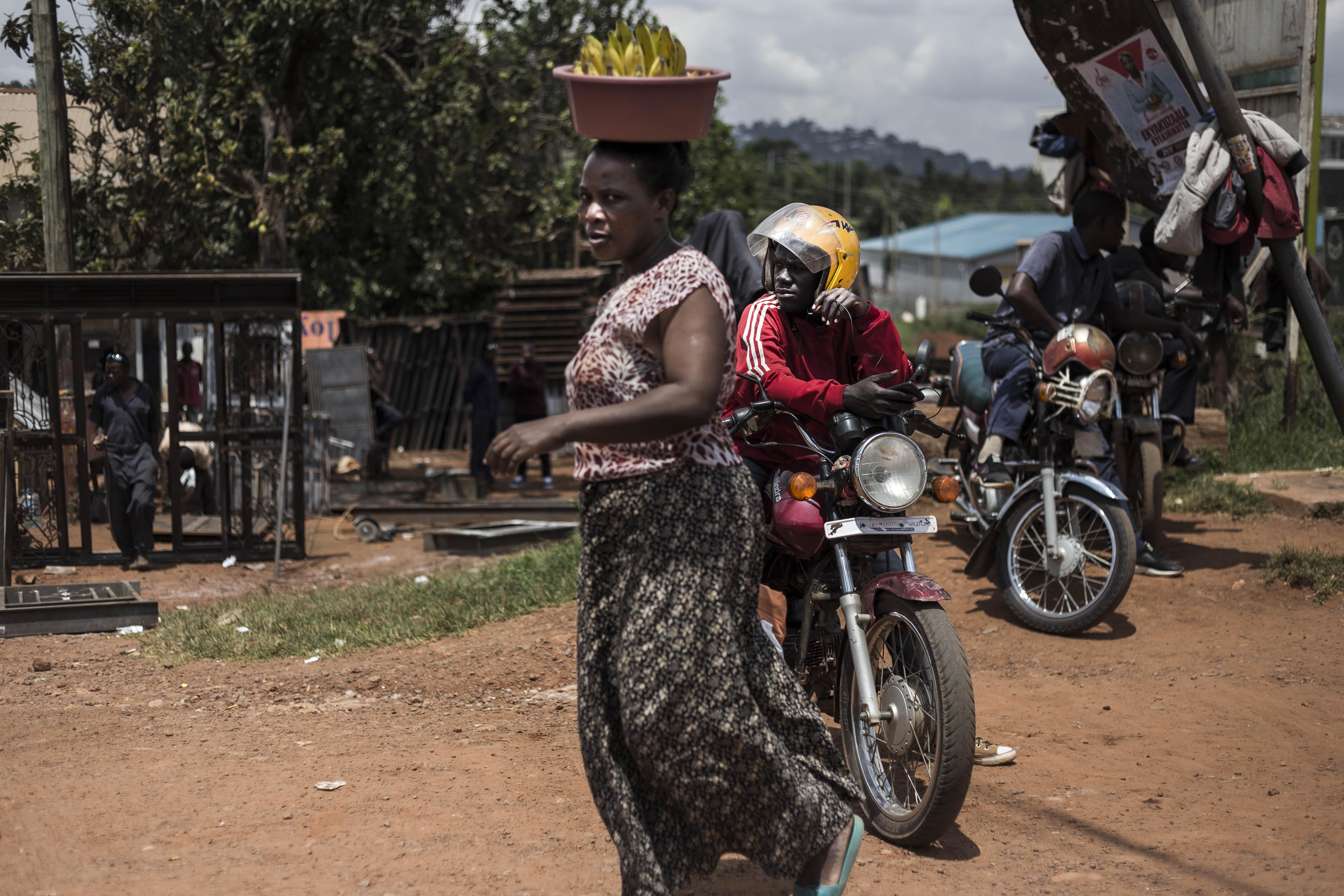 Uganda, África, People, gente