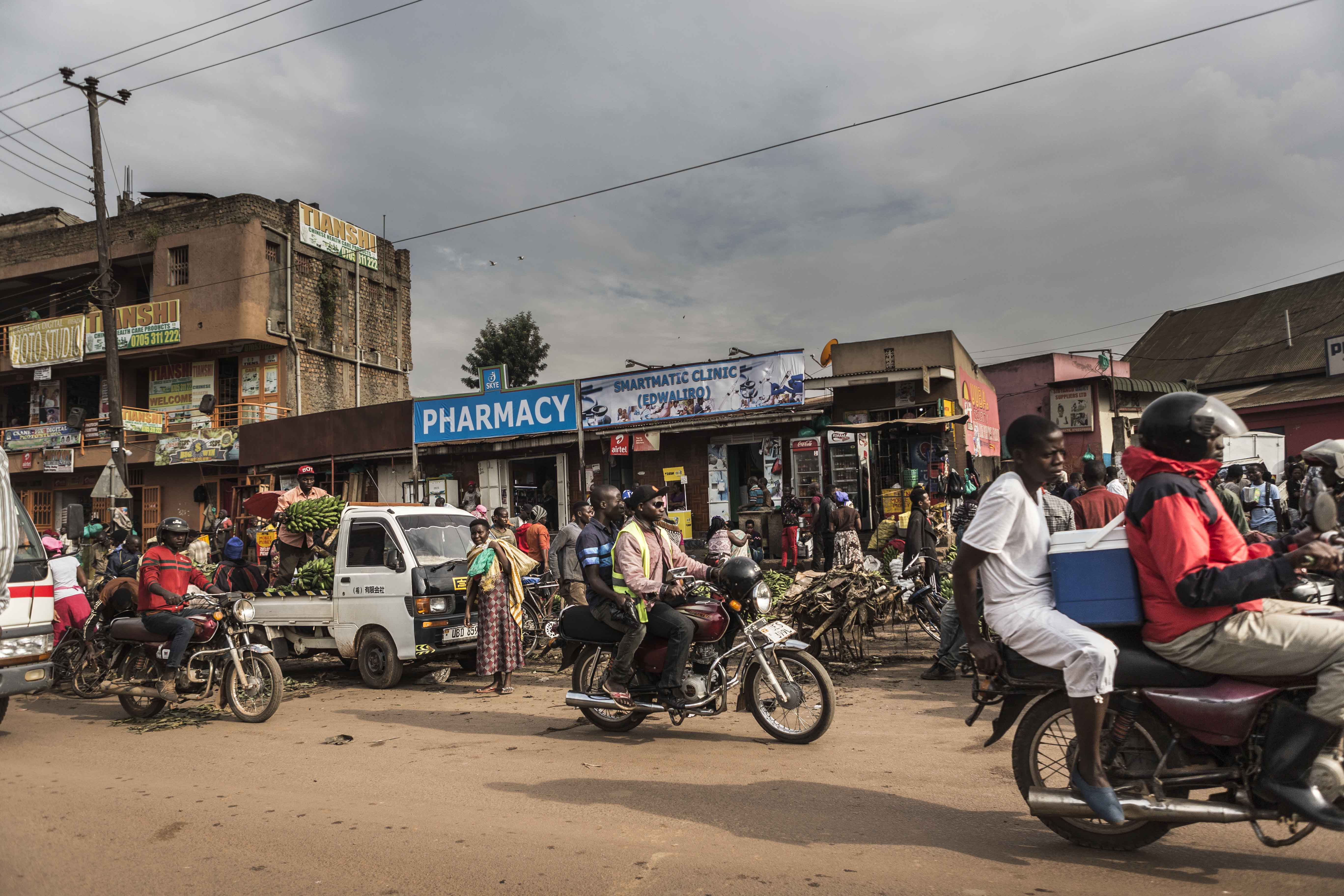 Kampala, Uganda, África